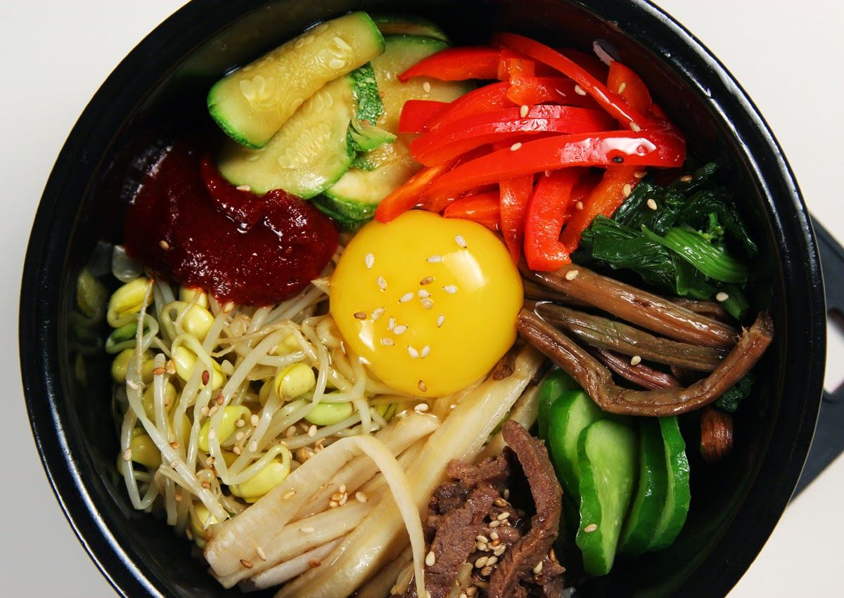 Jendela Dunia Sekitar Kita Resep Istimewa Bibimbap Khas Korea Bibimbap Resep Masakan Asia Ide Makanan