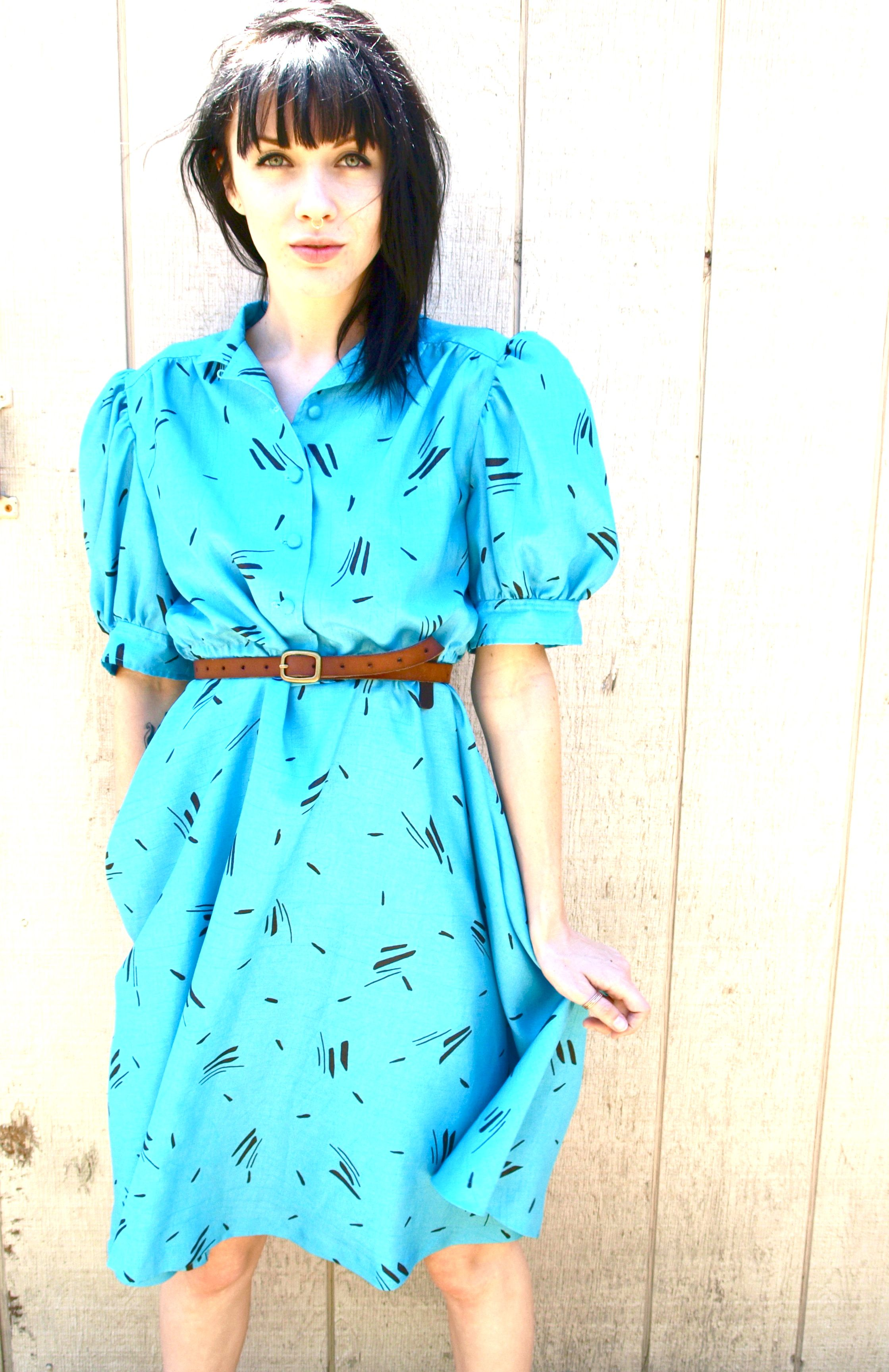 s vintage dorothy made it to oz new wave dress my style
