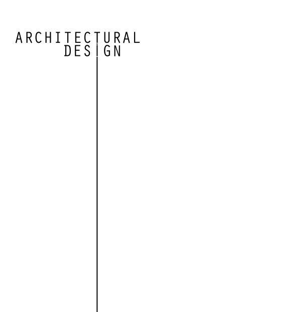 Graphic design /architectural design I