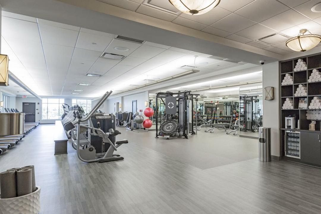 When Designed Correctly Boutique Fitness Centers Can Create A Welcoming Environment Of Excitement And Energy Flooring Dura Wood Galveston Gray