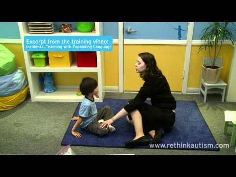 Rethink Autism Tip: Expand Your Child's Language with Incidental Teaching - YouTube