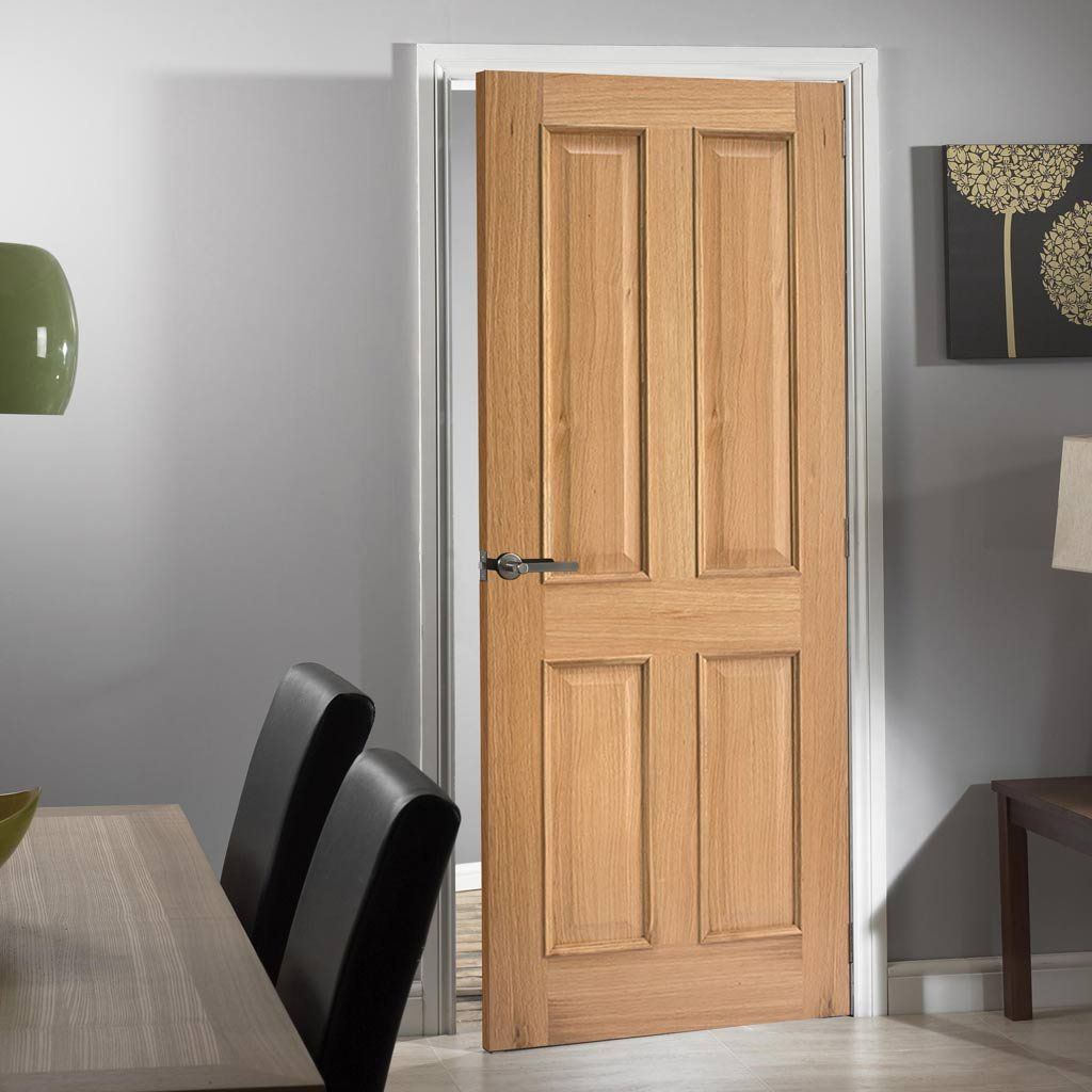 Oak Fire Door Regency 4 Panel Raised Mouldings 1 2 Hour Fire Rated In 2020 Fire Doors Oak Fire Doors Oak Doors