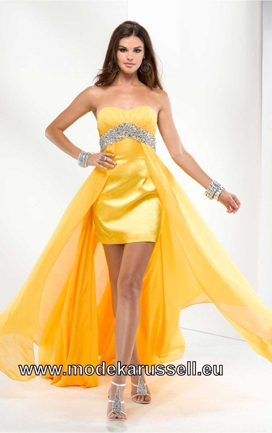 Gelbe kleider kurz