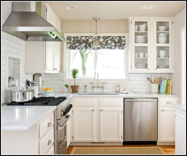 Kitchen Window Furnishings Ideas: Over The Sink Kitchen Window Treatments
