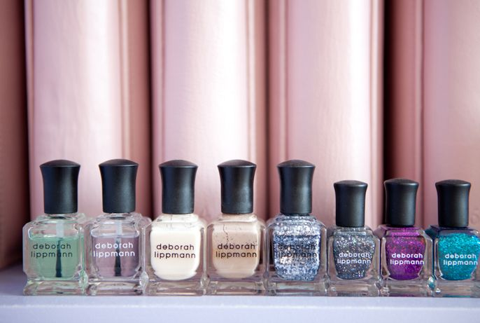 """I discovered Deborah Lippmann nail polishes about a year ago, and I've been in love ever since! The brand carries a wide variety of colors, and their glittery shades are my favorite."""