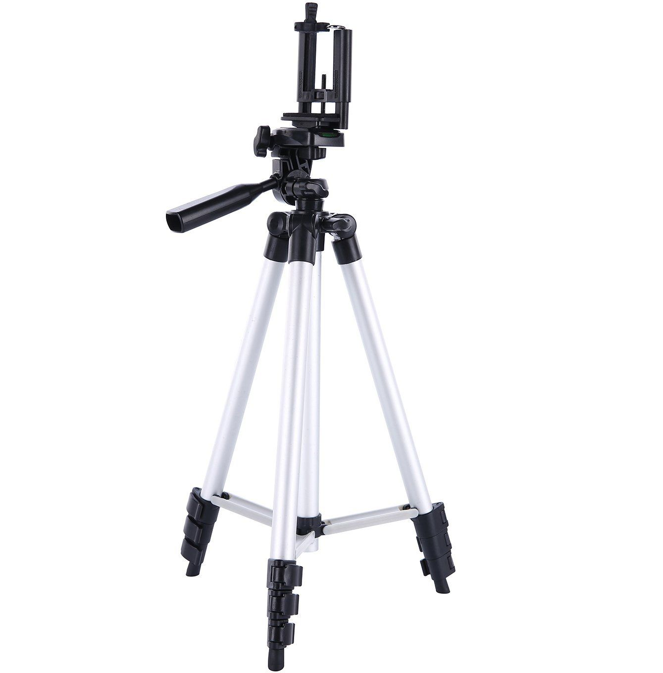 Amazon.com: Digiant 50 Inch Aluminum Camera Tripod + Universal Tripod Smartphone Mount for Apple, Iphone Samsung and Other Brands Smartphones: Cell Phones & Accessories