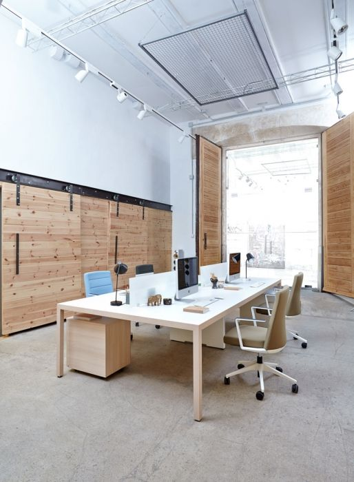 Prisma desk offices Actiu  Furniture  Pinterest  Mesas