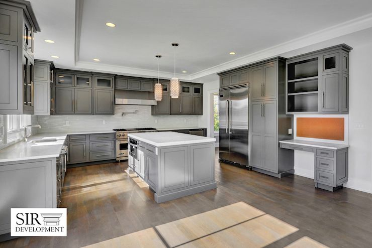 Best Charcoal Gray Kitchen Cabinets Charcoal Gray Kitchen 640 x 480