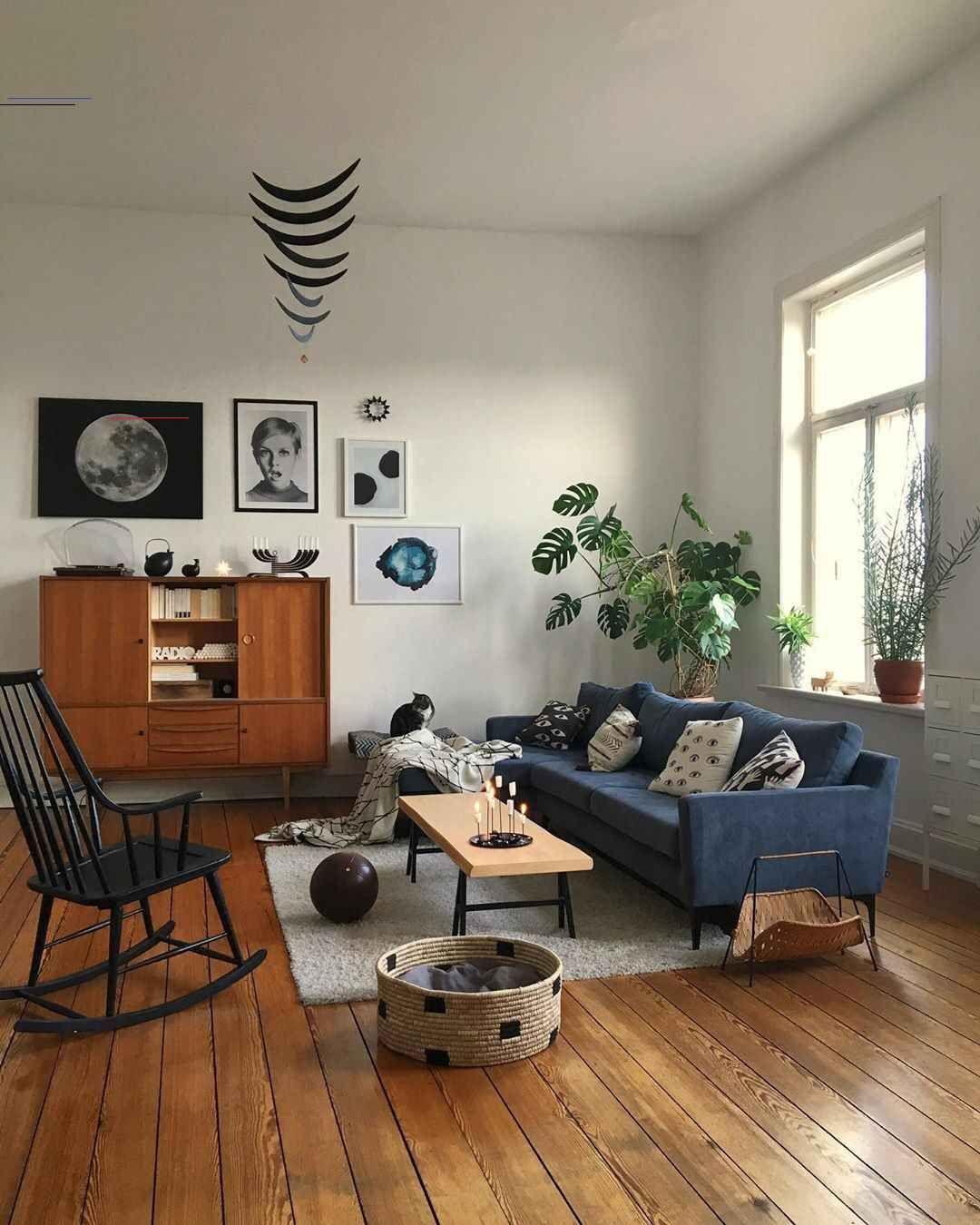 #livingroominspiratie in 2020 | Mid century modern living ...