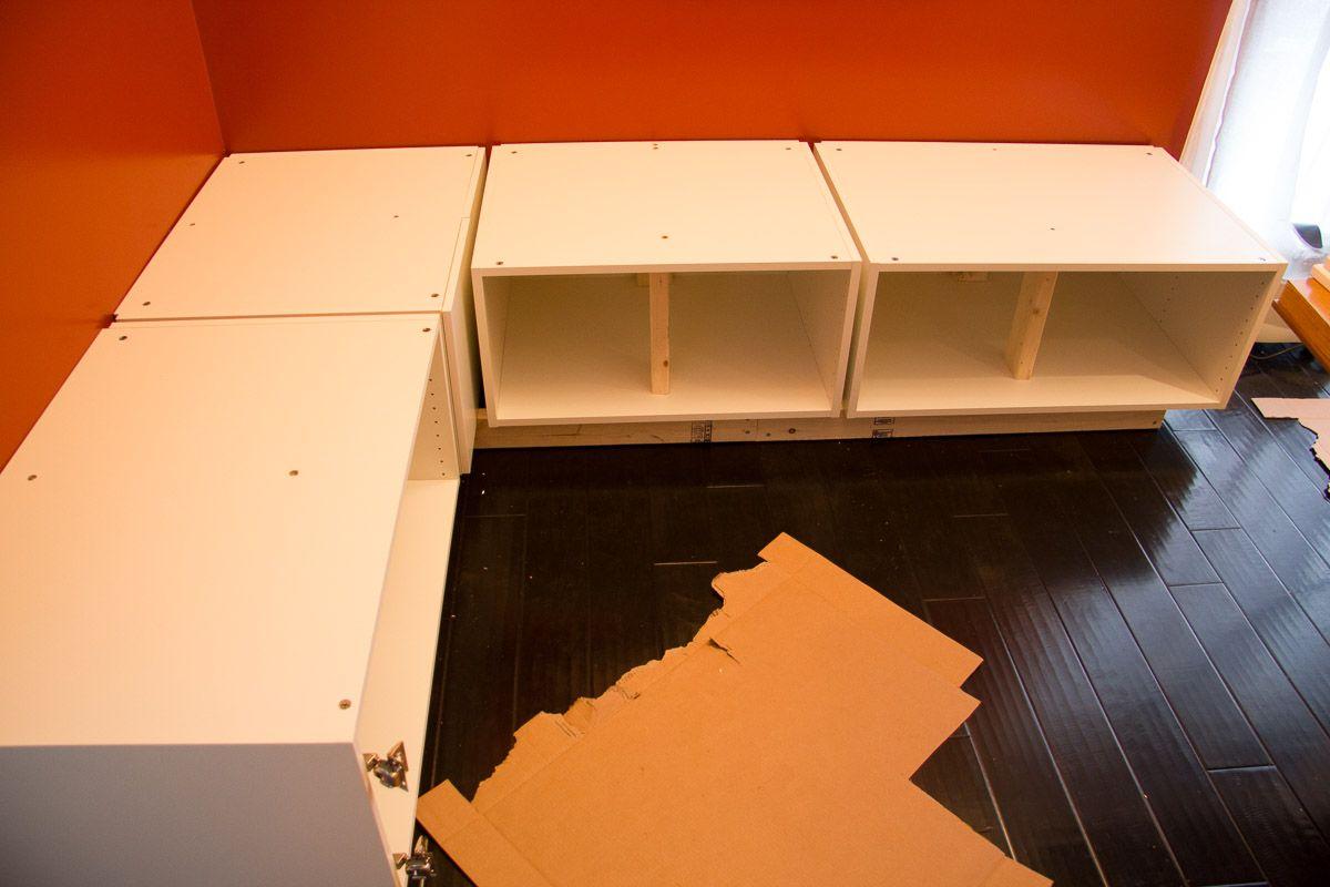 DIY Ikea Banquette Seating - Extra Support for Sitting-14 ... Banquette Diy on diy weir, diy kiln, diy bed, diy paris, diy driftwood, diy blanket, diy breakfast nook with storage, diy bench, diy storage seating, diy peacock, diy beadboard cabinets, diy bangs, diy cabinet plans, diy waterwheel, diy bulkhead, diy orange, diy wall, diy buffet with 4 doors,