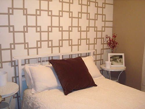 Wall Paint Templates. creative ways to paint your bedroom wall ...