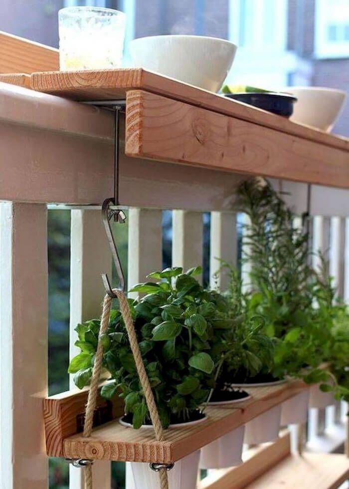 50 Küçük Balkon Dekorasyon Fikirleri #patioandgardenideas