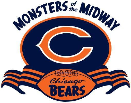 Chicago Bears Monsters Of The Midway Logo Chicago Bears Logo Chicago Bears Football Chicago Bears