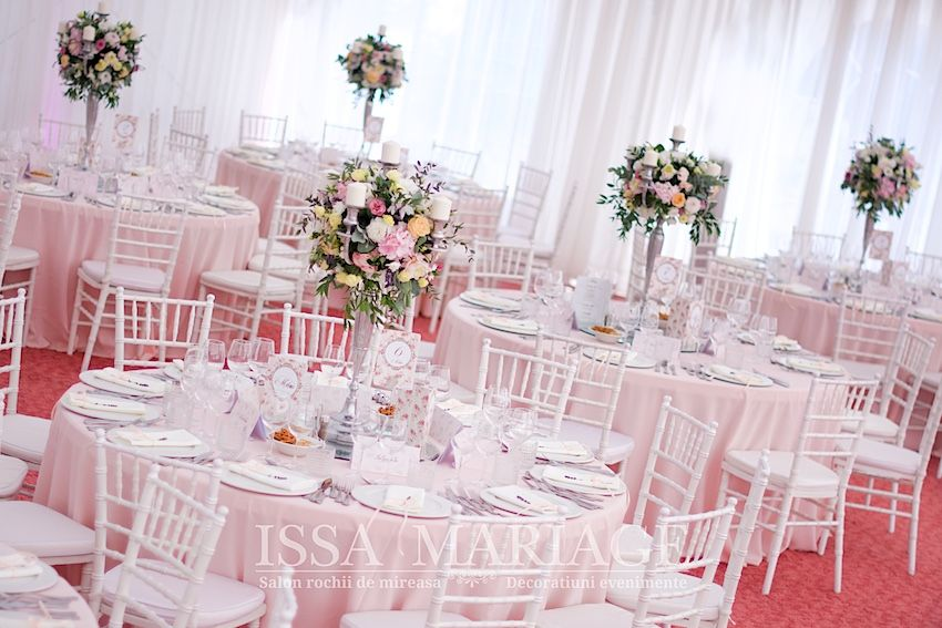 Decoratiuni Nunta Aranjamente Florale In 2019 Wedding Table
