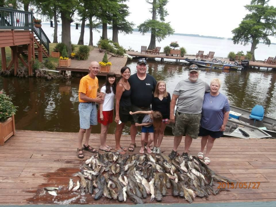 Great Day of Cat fishing on Reelfoot Lake — with Stan Nuckolls at
