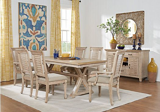 nantucket breeze white 5 pc dining room 699 99 find on rooms to go dining room furniture id=85567