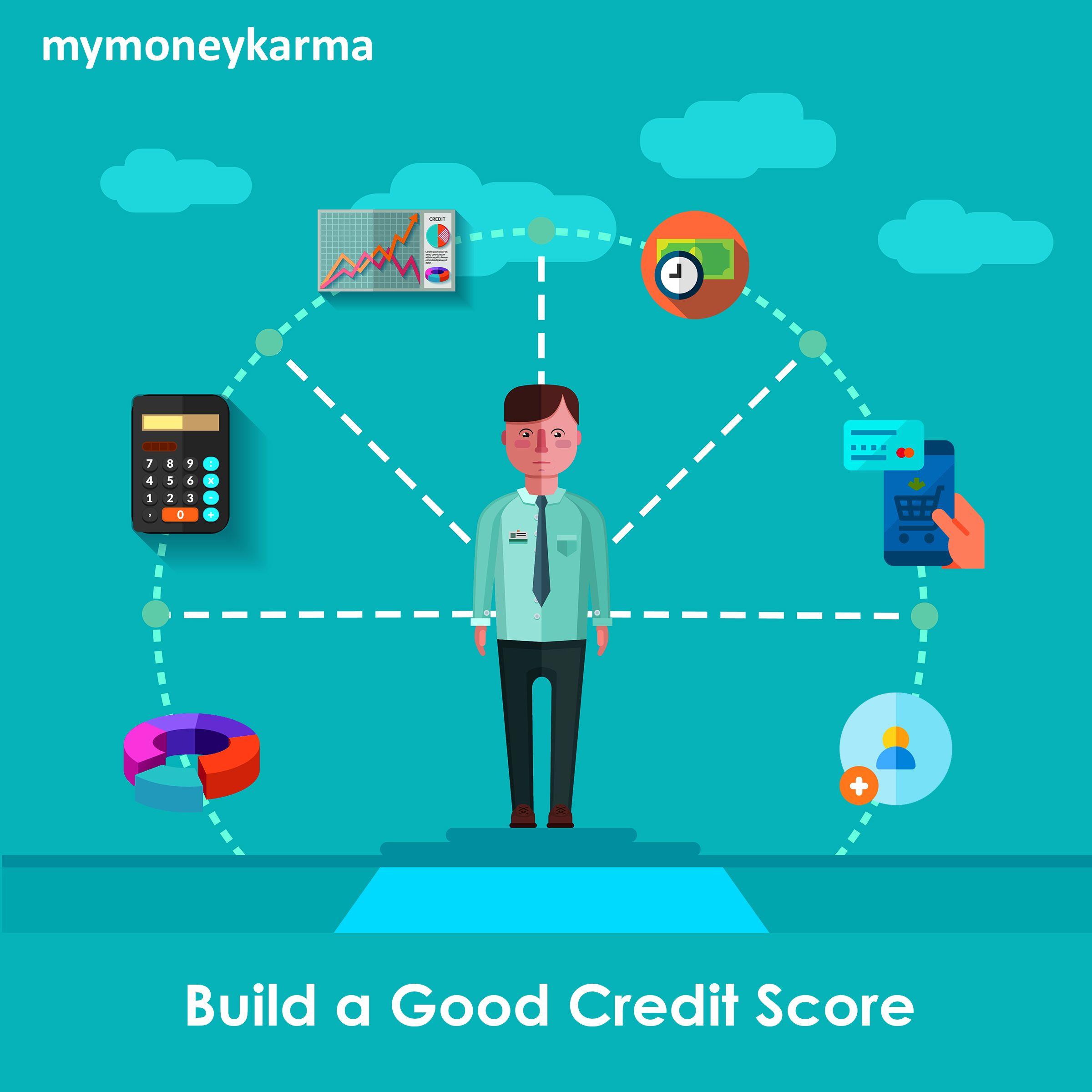 New Month S Resolution Build A Good Credit Score Mymoneykarma