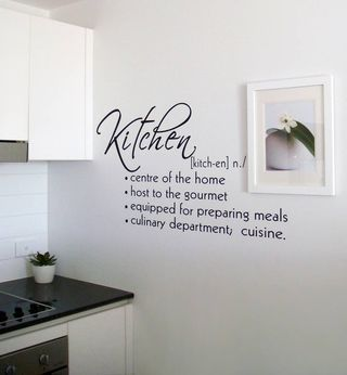 Kitchen Wall Sayings Kitchen Wall Quotes Kitchen Wall Decals Kitchen Definition