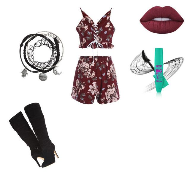 """KENDaLL JENNER💋"" by kayla1021 ❤ liked on Polyvore featuring GUESS and Lime Crime"
