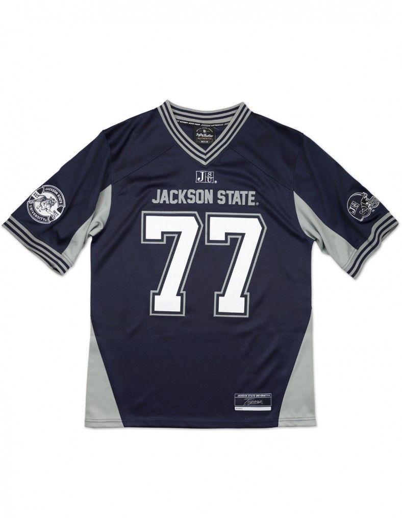 Jackson State University Football Jersey Style 2 Jackson State Jackson State University Football