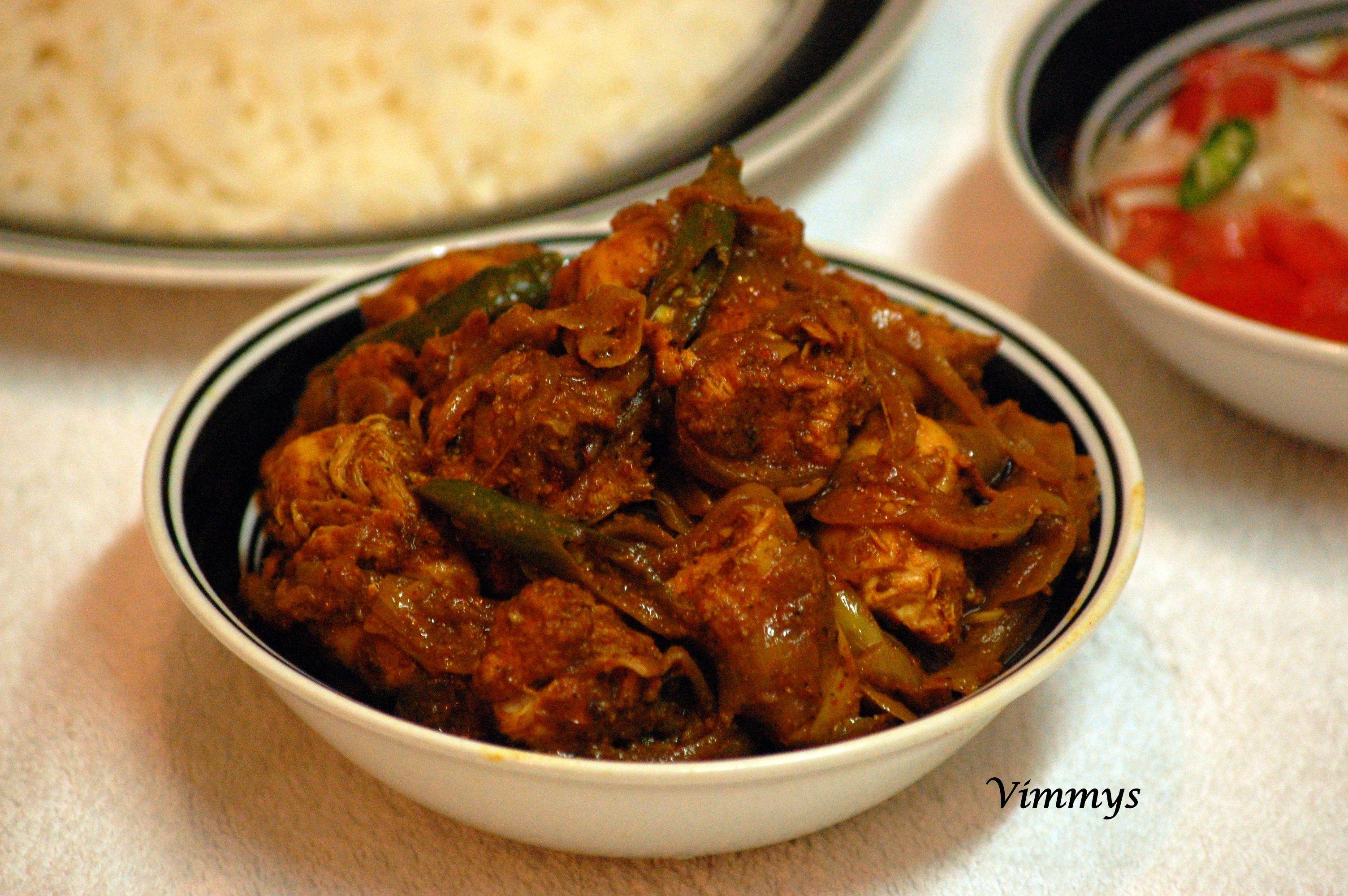 Chicken Semi-Gravy: Chicken Roast (Kerala Style) | Indian ...