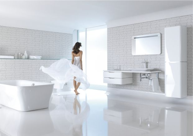 Duravit's All White Bathrooms. So Relaxing And Peaceful