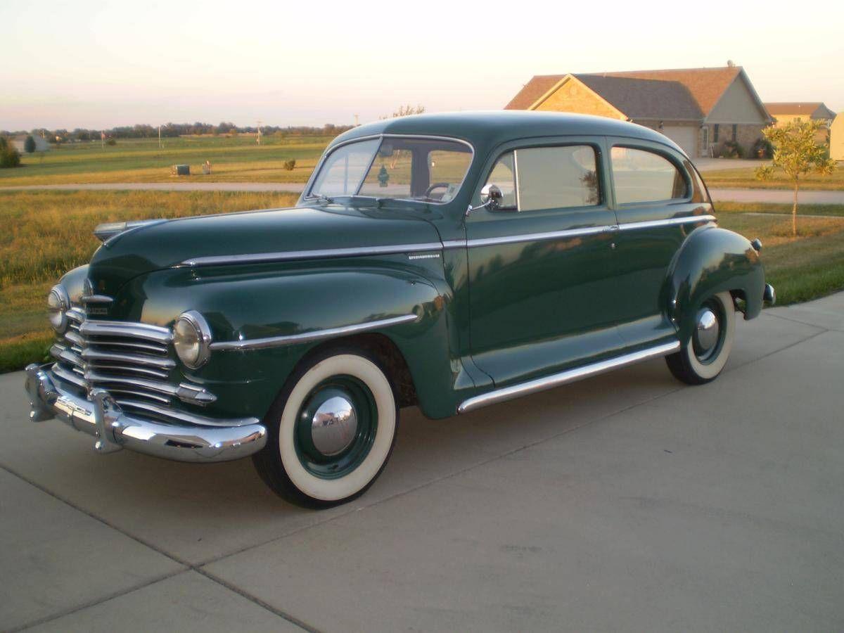 1946 Plymouth P15 Special Deluxe 2 Door Sedan | Plymouth ...