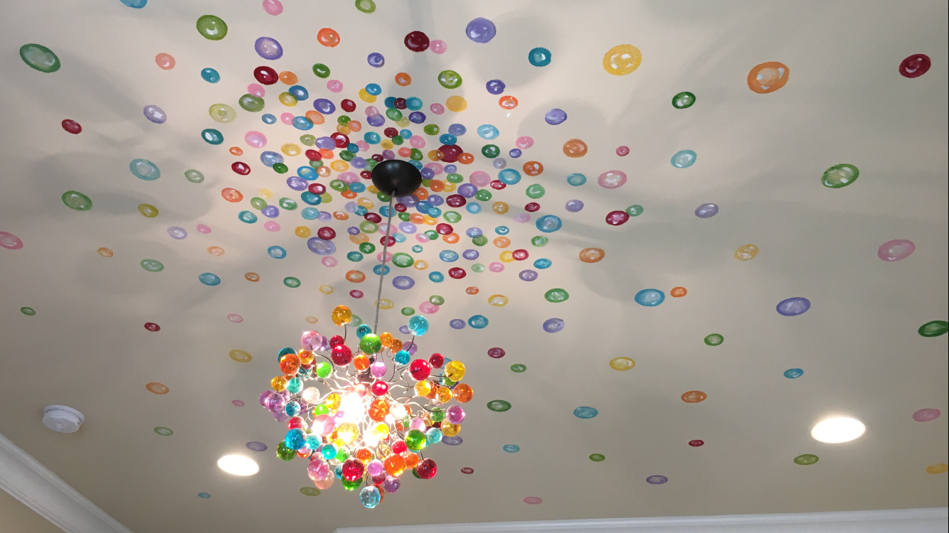 Modern Lighting With Colorful Bubbles Ceiling Pendant Lights Etsy Bedroom Light Fixtures Ceiling Pendant Lights Ceiling Pendant