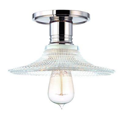 Heirloom Semi Flush Ceiling Lamp by Hudson Valley Lighting - http://www.lightopiaonline.com/heirloom-semi-flush-ceiling-lamp.html