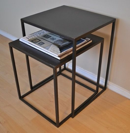 No Coffee Table Slide Together Two Nesting Tables Instead
