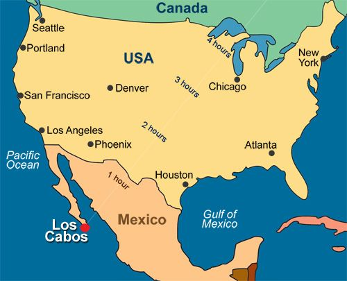 Image Result For Cabo San Lucas World Map Cabo San Lucas Travel
