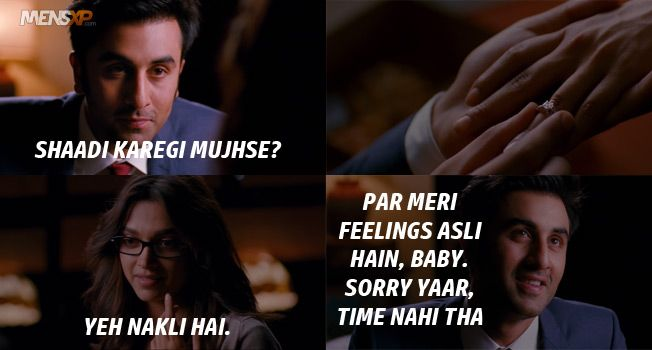 45 Things Yeh Jawaani Hai Deewani Taught Us About Love Life Friendships Bollywood Quotes Yjhd Quotes Love Song Quotes