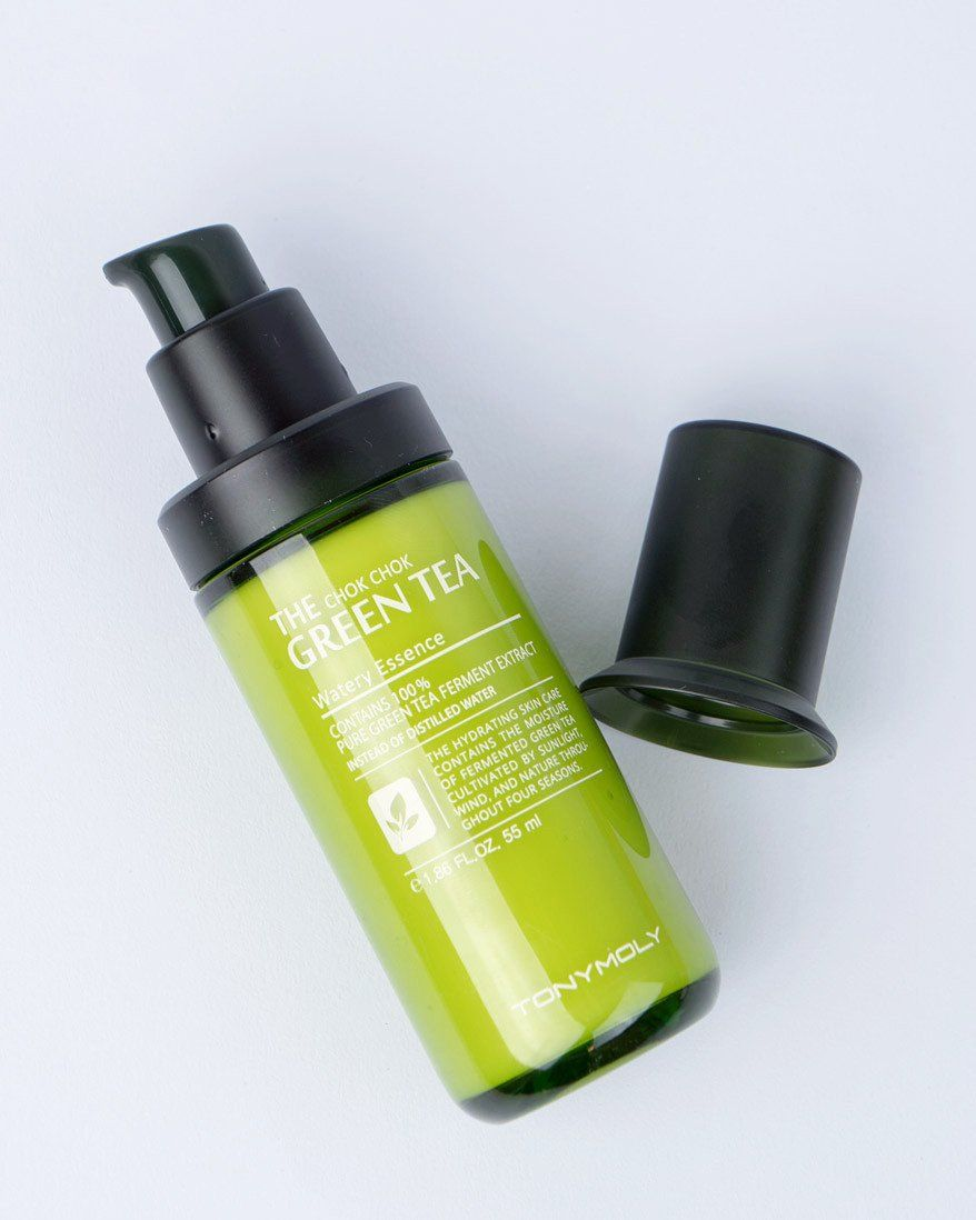 The Chok Chok Green Tea Watery Essence By Tony Moly Hydrating Skin Care Organic Skin Care Skin Care