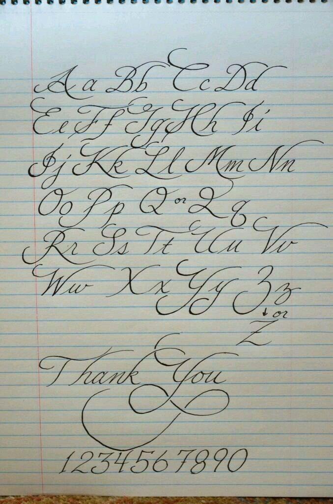 Calligraphy Paper Template   Beautiful Handwriting Template Artesanato Pinterest