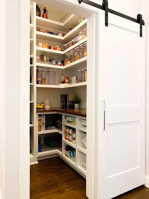 Our Farmhouse Pantry Organization Reveal