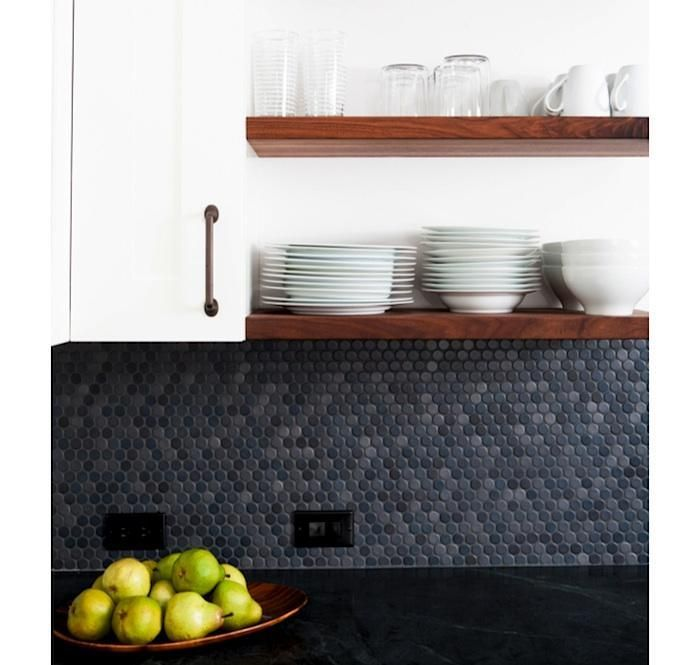 17 Best images about Kitchen backsplash on Pinterest   House tours, Clinton  hill and Wooden