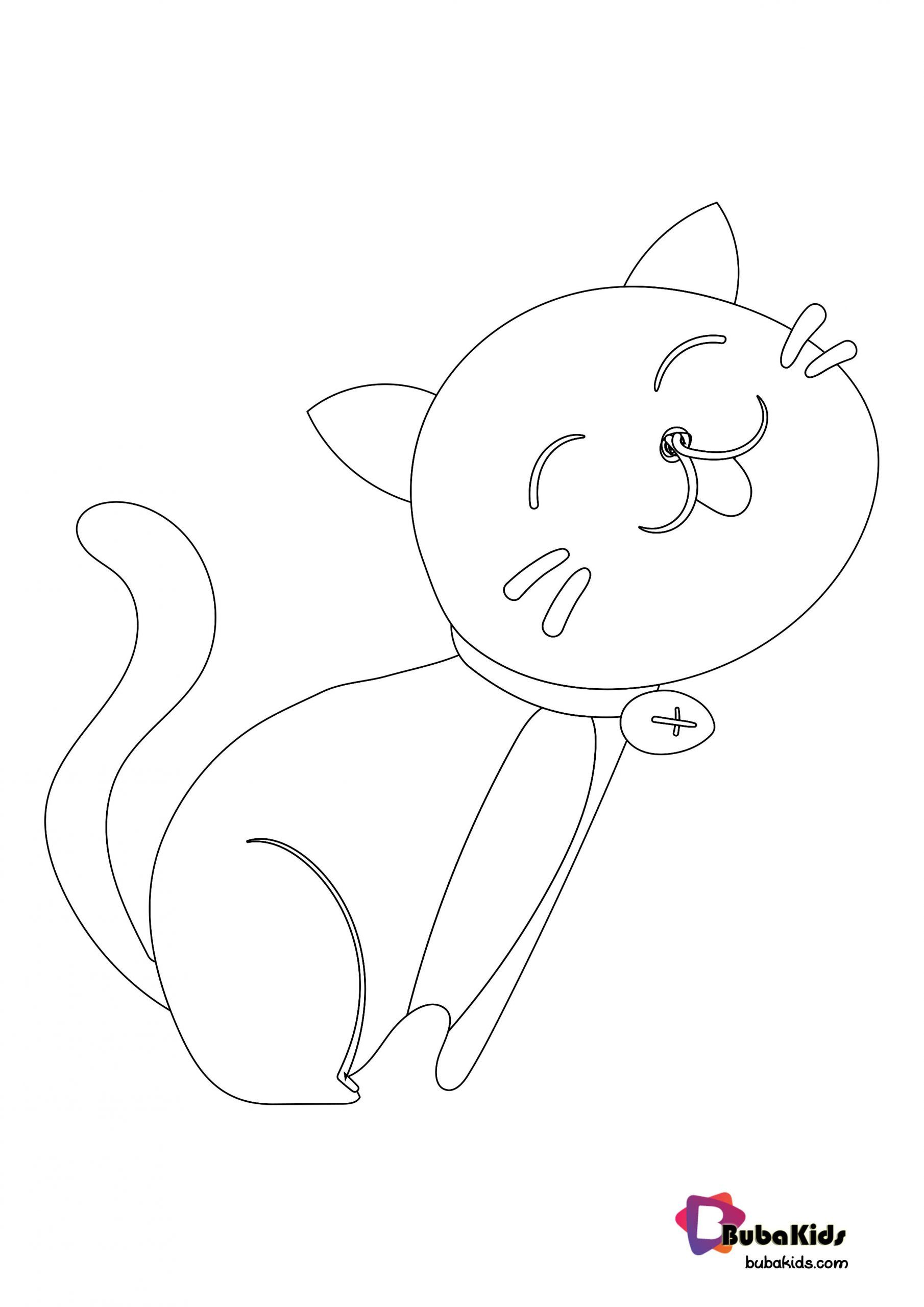 Animal Ears Coloring Pages