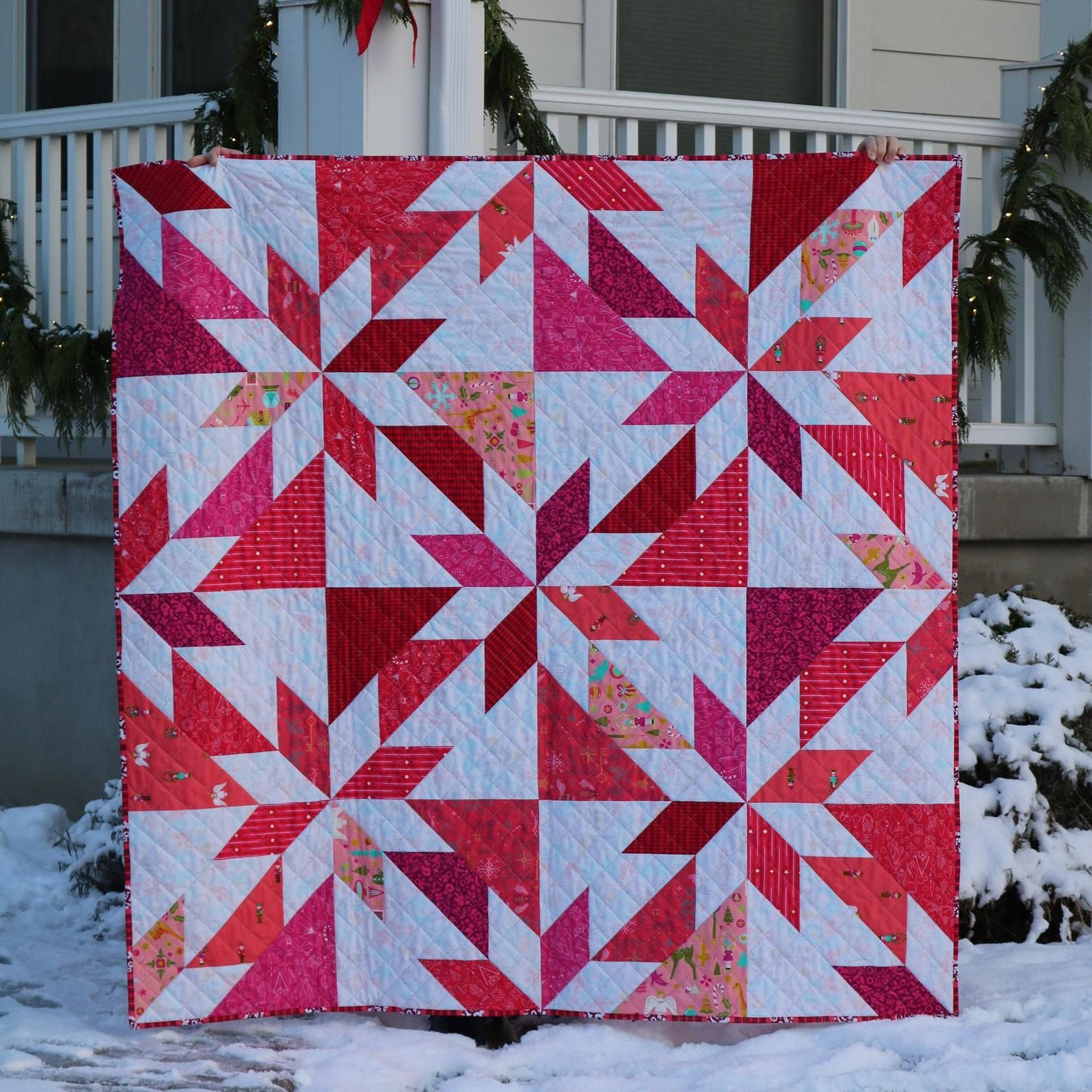 Giant hunters star quilt pattern etsy in 2020 hunters