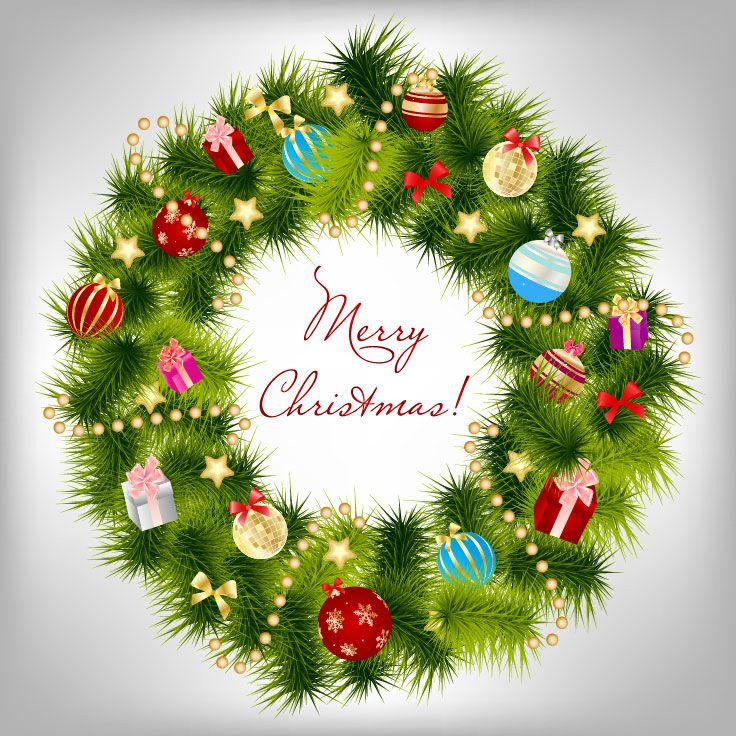 Free Christmas Background Clipart   ... Vectors. Free Vector Graphics U0026  Clipart ,