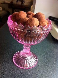 Linnean Herkkukoto: Minttu-suklaatryffelit