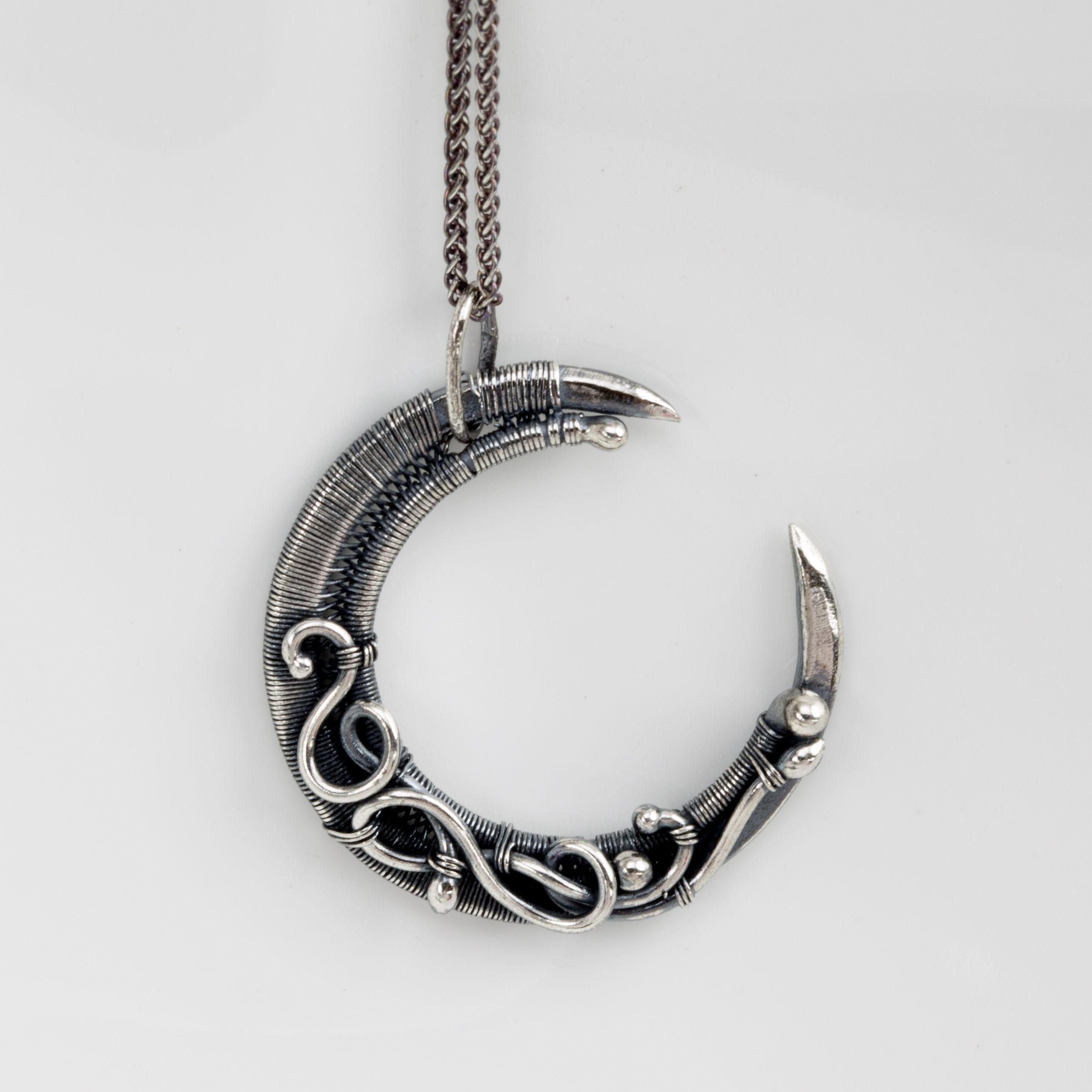 Crescent Moon Pendant with Sarah Thompson. Make a stunning crescent ...