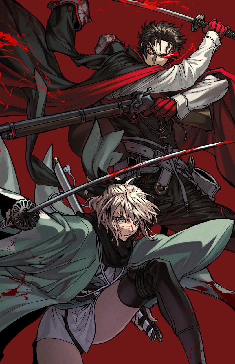 Fate/Grand Order Hijikata Toshizou, Okita Souji Fate