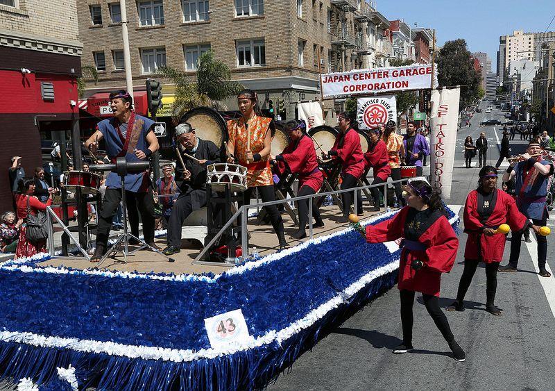San Francisco Taiko Dojo Dojo Cherry Blossom Parade Cherry Blossom Festival