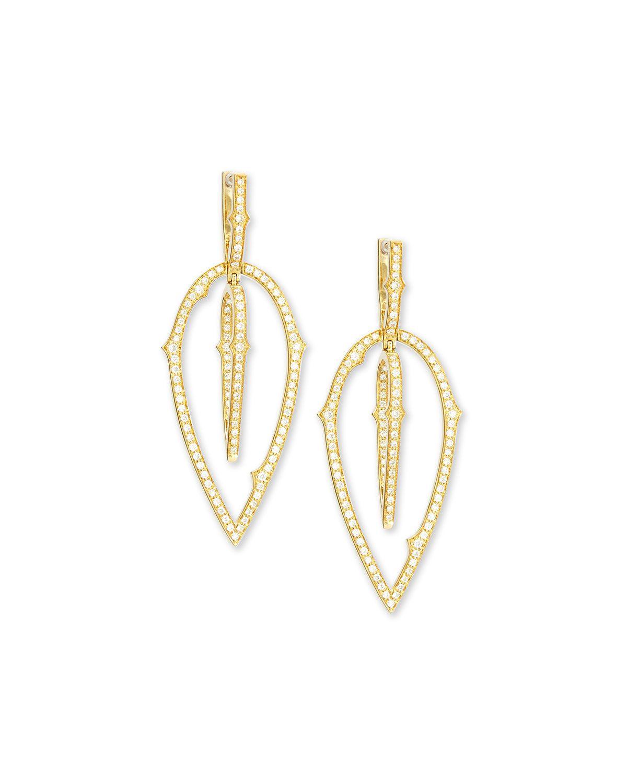 Stephen Webster Thorn Detachable-Drop Diamond Earrings plnaez