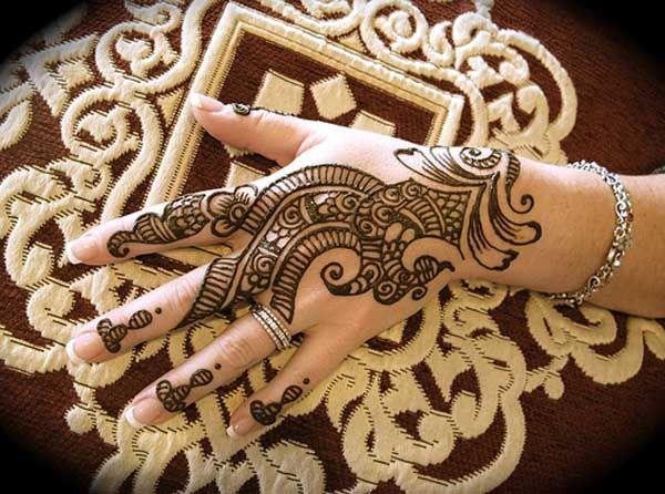 Easy Mehndi Ideas : Amazingly easy mehndi designs for hands and feet
