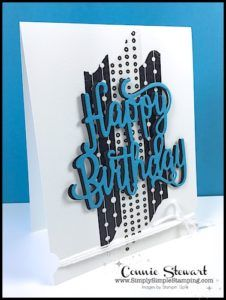 Now or WOW - Happy Birthday Washi Card - Simply Si