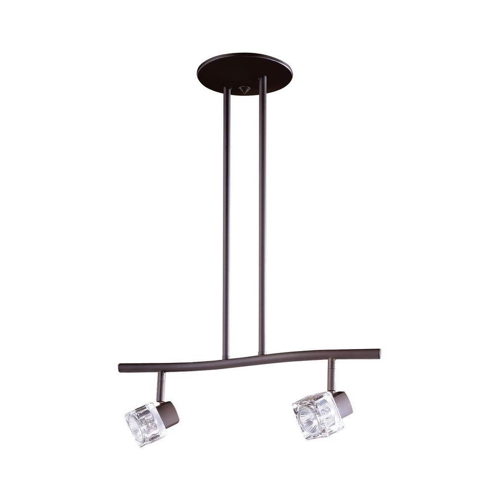 Filament Design Cassiopeia 2-Light Oil Rubbed Bronze Track Lighting Kit