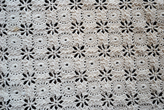 Large Set Of 10 Cotton Placemats Plus 1 Matching Runner Hand Etsy Hand Crochet Crochet Placemats