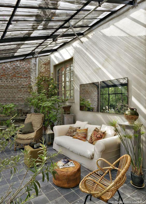 La Veranda Plus Qu Une Extension Un Cadre De Vie Decouvrirdesign Jardin D Hiver Decoration Veranda Amenagement Veranda