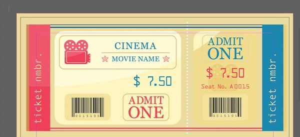 Adobe InDesign Auto Numbering on Tickets